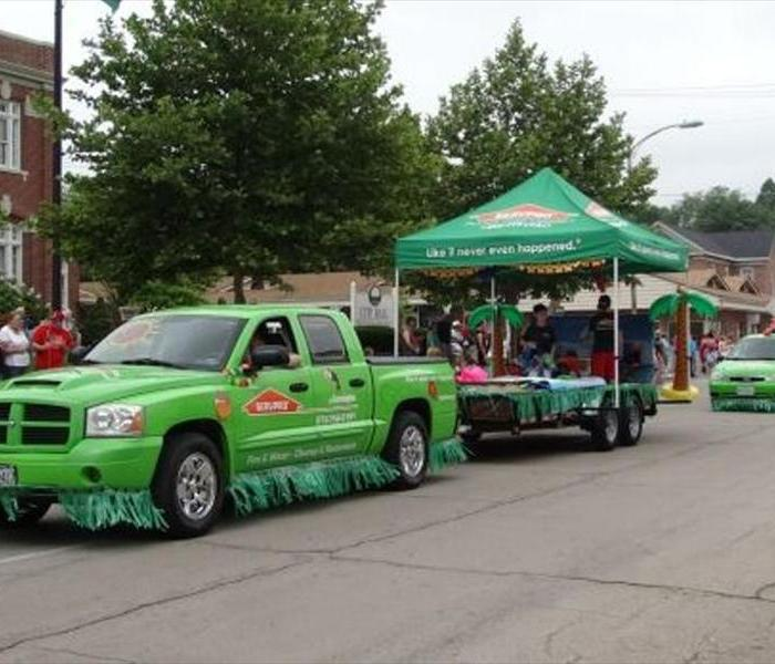 SERVPRO of Farmington Country Days Parade