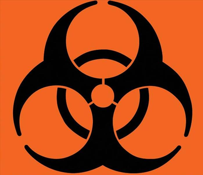 Biohazard SERVPRO Biohazard and Crime Scene Cleanup and Restoration