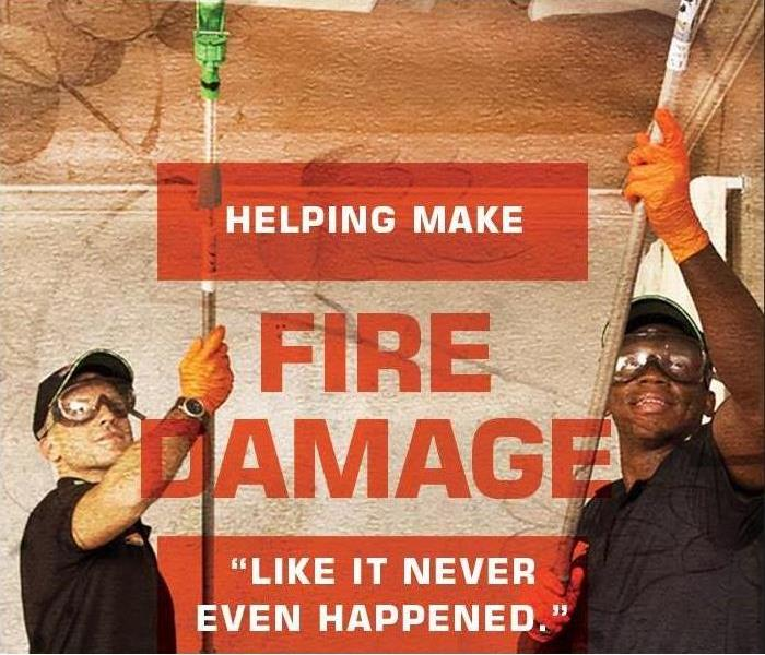 Why SERVPRO Why SERVPRO of Farmington? Local Fire Damage Specialists