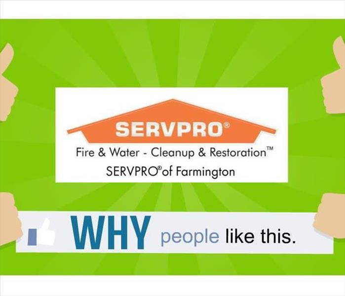 Why SERVPRO SERVPRO of Farmington: Your One Stop Shop